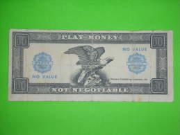 USA?,gambling,play Money,50 Fifty,dollar?banknote,paper Money,bill,vintage - Billets