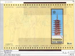 Rumänien - Roumenie - Rumania - Michel Block 80 - ** Mnh Neuf Postfris - Hojas Bloque