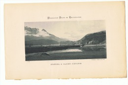 Ancienne Reproductions D´une Photo De 1899 - Celerina & Glacier Corvatch - Suisse - (sf37) - Reproductions