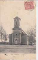 FOURS - L'église - France