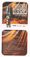 ZWITSERLAND   BIERVILTJE VOICES ON TOP  -  PONTRESINA 2011 - Sous-bocks