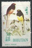 = Bhutan ** Postfris ** - Birds - Bhoutan