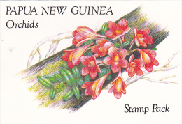 Papua New Guinea 1986 Orchids Stamp Pack PPNG 83 - Papua New Guinea