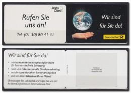 1998 ALLEMAGNE Germany PortoCard P-1998-3.700-34 . . . . [BG40] - Geografia