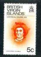 4463x)  Br.Virgin  1974 - Sc # 270   ~ Mnh** ~ Offers Welcome! - British Virgin Islands