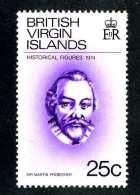 4464x)  Br.Virgin  1974 - Sc # 272   ~ Mnh** ~ Offers Welcome! - British Virgin Islands