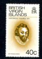 4465x)  Br.Virgin  1974 - Sc # 273   ~ Mnh** ~ Offers Welcome! - British Virgin Islands