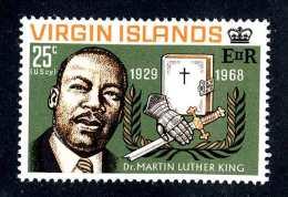 4468x)  Br.Virgin  1968 - Sc # 193   ~ M* ~ Offers Welcome! - British Virgin Islands