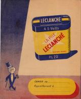 2 PROTEGE-CAHIERS PILE LECLANCHE - Accumulators
