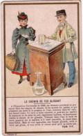 CHROMO Chocolat Chicorée DUROYON RAMETTE à Cambrai Nord (Train - Chemin De Fer) - Tea & Coffee Manufacturers
