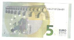 5 €  Spagna VA Mario Draghi V003D6 FDS Cod.€.092 - 5 Euro