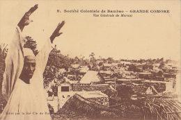 SOCIETE GENERALE DE BAMBAO / GRANDE COMORE ... VUE GENERALE DE MORONI - Comores