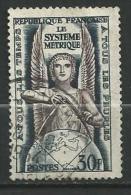 """FR YT 998 """" Le Système Métrique """" 1954 Oblitéré - Usati"""