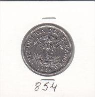 1 SUCRE Nickel 1964 - Equateur