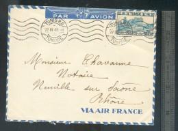 Enveloppe Tunisie 1942 - Lettres & Documents
