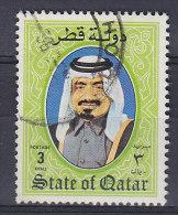 Qatar 1984 Mi. 864    3 R Scheich Khalifa Bin Hamad Al-Thani - Qatar