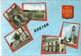 34 ROUJAN HERAULT BLASON - France