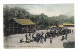 GABON  ( Ex  CONGO BELGE ) /  ARRIVEE  D' UNE  CARAVANE  DANS  LE  MAYUMBE  /  A Voyagé En 1913  ( Cpa Colorisée ) - Gabon