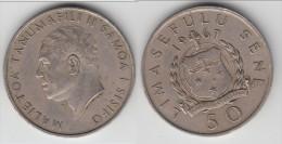 **** SAMOA - 50 SENE 1967 MALIETOA TANUMAFILI **** EN ACHAT IMMEDIAT !!!