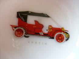 cendrier publicite  Ets DOUBLIER le Mans SARTHE voiture Austin Magnier blangy france