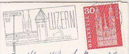 1965 SWITZERLAND COVER (card)   Bird SWAN Pic SLOGAN Pmk Birds - Swans