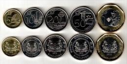 Singapore 5 Coins Set 2013 - Singapour