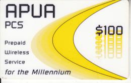 ANTIGUA & BARBUDA - APUA Prepaid Card $100, 03/01, Used - Antigua And Barbuda