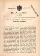 Original Patentschrift - M. Scharrenbach In Wehr B. Ahrweiler , 1893, Kelter Und Fruchtpresse , Presse , Wein , Brauerei - Maschinen