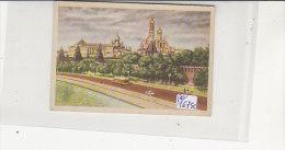 PO1675C# FIGURINA CARTONATA SIDAM Anni '50 - LE MERAVIGLIE DEL MONDO N.46 - KREMLINO - RUSSIA - Autres