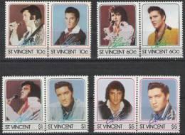 St-Vincent  1987 Yvertn° 999-1006 *** MNH Cote 12 Euro Elvis Presley - St.Vincent (1979-...)