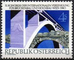 AUSTRIA 1980 Structural Engineering Congress, Vienna - 1945-.... 2ème République