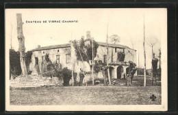CPA Vibrac, Vue Du Château - France