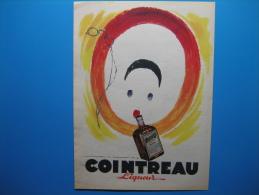 Publicité 1952 Liqueur COINTREAU  (illustrateur Jean Adrien Mercier) - Advertising
