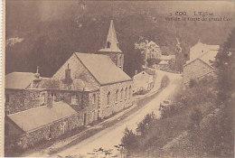 Coo - L´Eglise Vue De La Route De Grand Coo - Trois-Ponts