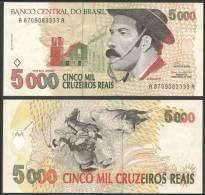 Bresil Brazil 5000 Cruzeiros Reais Gaucho ND (1993) P 241 UNC NEUF - Brazilië