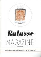 [BKB105] Balasse Magazine 207 - Avril 1973 - Magazines