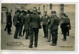 35 RENNES Justice Réhabilitation DREYFUS Cdt Targe Explique Aux Journalistes ..ecrite En 1906 Timb - 2013 - Rennes