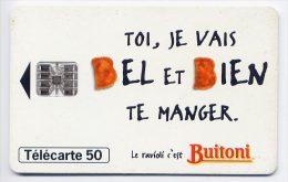 Télécarte 50 Unités N° F577 France 07/95 - Buitoni Raviolis, SC7 - France