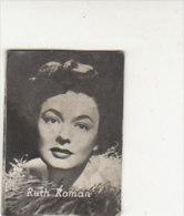 PO1778C# FIGURINE DOLCIFICIO LOMBARDO LAINATE Anni '50 - ATTORI CINEMA - RUTH ROMAN - Autres