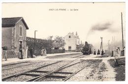 "CPA : ""ANCY-LE-FRANC - La Gare"" - Ancy Le Franc"