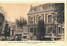 Etablissement Louis FRANCOIS St MAUR Avenue Du Grand Châne - Pavillon D'Habitation TTB Neuve - Saint Maur Des Fosses