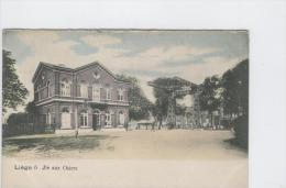 CP Liège Ile Aux Osiers Vers 1905 E D D  Colorisé - Luik
