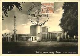 Fesrthalle Am Funkturm  MiNr 112  Echte Photo - [5] Berlijn