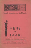 [BKB112] Tijdschrift Sociale Aspecten Van De Filatelie - Mens En Taak - Riviste