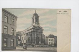 CP Liège Eglise Sainte - Véronique Vers 1905 Heintz - Jadoul Colorisé - Lüttich