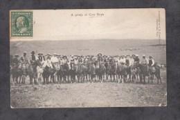 CPA - Near CHEYENNE , Wyo. - A Group Of Cow Boys - 1909 - Etats-Unis