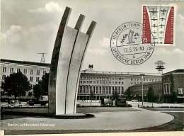 Luftbrückendenkmal  MiNr 188  Ersttag Stempel   Echte Photo - [5] Berlijn
