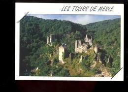 SAINT ST GENIEZ O MERLE : LES TOURS DE MERLE Corrèze 19 - Autres Communes