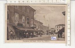 PO1945C# UDINE - CERVIGNANO DEL FRIULI - PIAZZA EMANUELE FILIBERTO - CAFFE' CENTRALE  VG RSI REPUBBLICA SOCIALE 1944 - Udine
