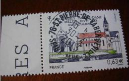 OBLITERATION RONDE  SUR TIMBRE NEUF COLLEGE NOTRE DAME YVERT 4743 - Used Stamps